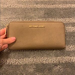 Taupe Michael Kors Wallet